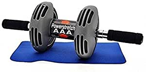 Vivir Power Stretch Ab Wheel Roller For Total Body Workout With Knee Mat