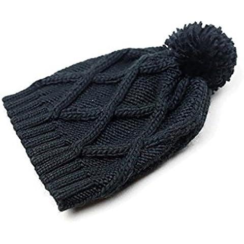 Z&Feng Women 's colore solido di modo sfera cappello di maglia , (Patterns Knit Bambini Cappelli)