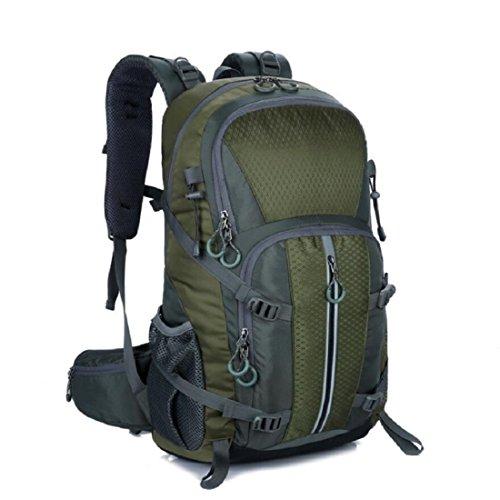Z&N Backpack 40-50L KapazitäT Bergsteigen GepäCk Tasche Outdoor Wandern Unisex Rucksack Laptop Tasche Student Tasche Geeignet FüR Urlaub Reiten Schwimmen Fitness C