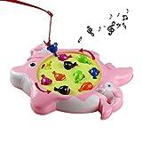 Elektrisch Angelspiel Kinderspiel mit Musik für Kinder ab 3 Jahren (Style A)