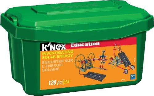 K'NEX 33246 – Education – Investigating Solar Energy – 128 Pieces – 9+ – Bau- und Konstruktionsspielzeug