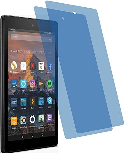 2x ANTIREFLEX matt Schutzfolie für Amazon Fire HD 8-Tablet 7. Generation 2017 Premium Displayschutzfolie Bildschirmschutzfolie Schutzhülle Displayschutz Displayfolie Folie (Amazon Fire Tablet Case 6)