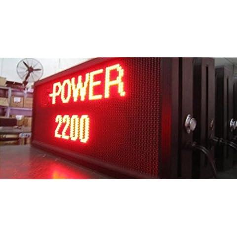 GOWE per Display Led, 32 x 96dots, rosso, P10, Outdoor, Power2200-C, con messaggio elettronico, Ideali per pubblicizzare, fornitore per schermo - Moving Elettronico