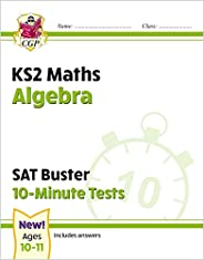 New KS2 Maths SAT Buster 10-Minute Tests - Algebra (for the 2021 tests)