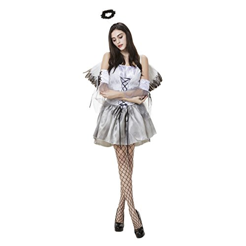 White Witch Fancy Dress - VENI MASEE Women Heavenly Devil
