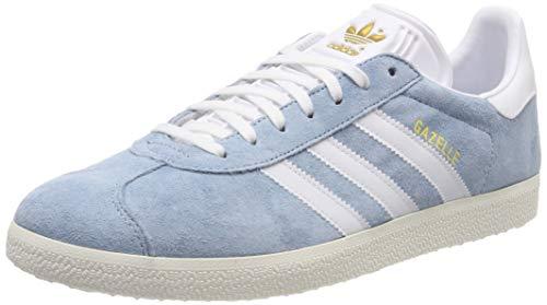 adidas Damen Gazelle W Gymnastikschuhe, Grau (Ash Grey S18/Ftwr Chalk White), 36 EU (3.5 UK)