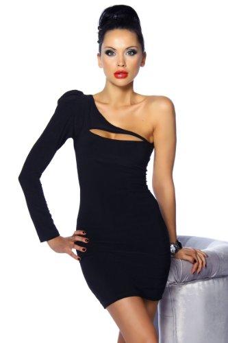 Schwarzes Somnia Luna Kleid Damen schwarz L Oberteil Kleid Dress Schwarz
