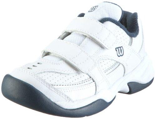 Wilson Pro Staff Court Jr Advantage Court Velcro WRS964700105 Unisex - Kinder Sportschuhe - Tennis Blau