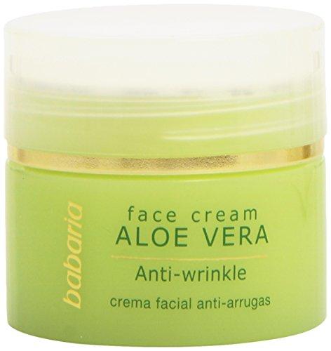 Babaria Natural Anti Wrinkle Face Cream Aloe Vera 50ml