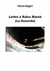 Lettre à Ralsa Marsh