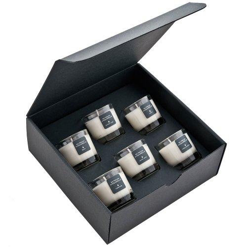 Aquarelle Coffret de 6 Bougies Parfumées 30 g
