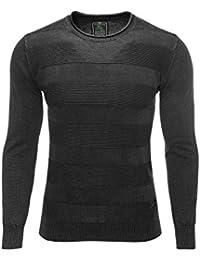 Key Largo Pulli Pullover Shirt Langarm Gr NEU M bis XL mit Sternen 921