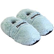 Zapatillas térmicas Pantuflas de granos para el microondas y el horno talla M / EU36-45 - Zapatillas para microondas Pantuflas térmicas