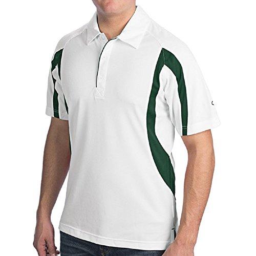 ChampionHerren Poloshirt White/Athletic Dark Green