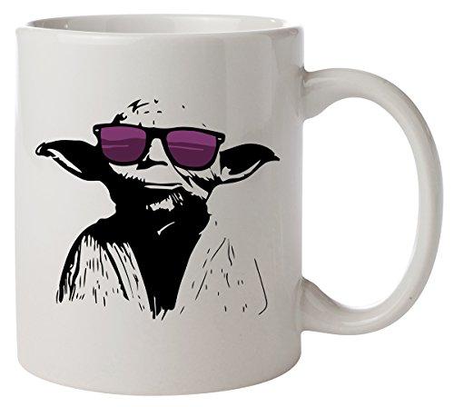 Hipster Yoda Star Wars Kaffeetasse