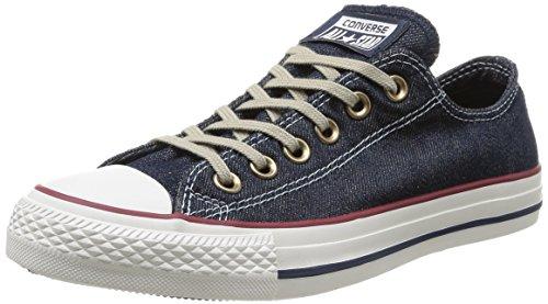 Converse Unisex-Erwachsene Ox Denim All Star, Blau (Navy/Red/Egret), 44 EU (All Denim Star)