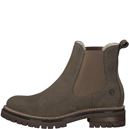 Bild von Tamaris Damen Chelsea Boots 25474-21,Frauen Stiefel,Halbstiefel,Stiefelette,Bootie,Schlupfstiefel,hoch,Blockabsatz 3.5cm