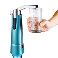 Goolsky Water Bottle Dispenser Pump Wireless Automatic Electric Gallon Drinking Water Jug Pump Rechargeable Water Dispensing Pump for Home Office Kitchen Camping Outdoor