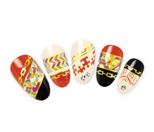 Come 2 Buy - (grandi dimensioni, per 6 - 10 volte) Nail Art