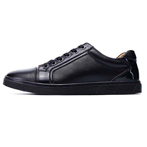 Zapatos Al Aire Libre Zxcv Zapatos De Cuero Bajos Para Ayudar A Los Hombres Ocasionales De Los Hombres De Los Zapatos Casuales De Los Hombres Zapatos De Los Hombres Negro