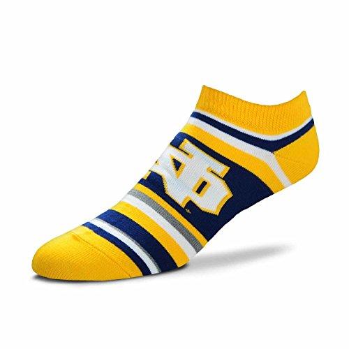 Acryl-sport-team Sock (For Bare Feet Notre Dame Fighting Irish Adult NCAA Lotta Stripe Socken - Teamfarbe, Herren, Team Color, Large)