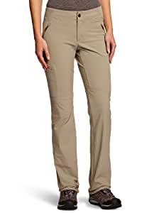 Columbia Women's Back Up Passo Alto Straight Leg Pant - Tusk, Large/Size 10