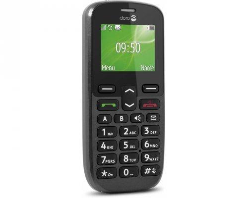 Doro PhoneEasy 508 - Móvil libre (pantalla 1.8''), negro