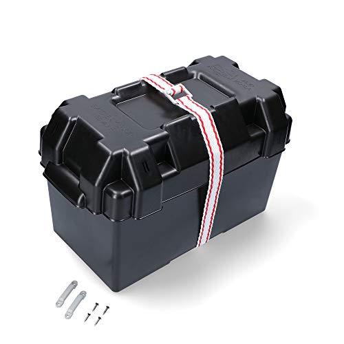 Batteriekasten 354 x 182 x 196 schwarz