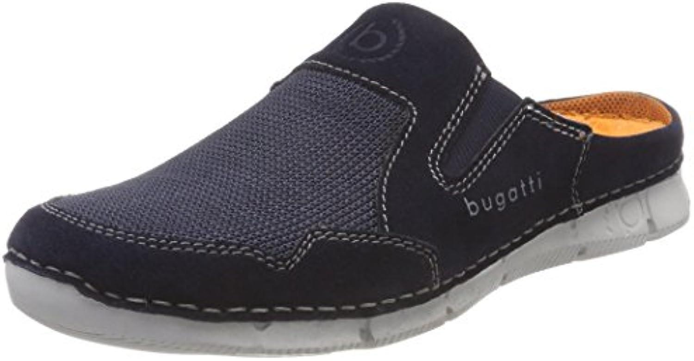 Bugatti Men Sabots CANGOO 321-46790-1469-4141 321-46790-1469-4141 321-46790-1469-4141 Blu Scuro, Coloreee blu, Taglie da Uomo 47 | Servizio durevole  035286