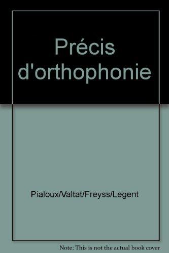Précis d'orthophonie
