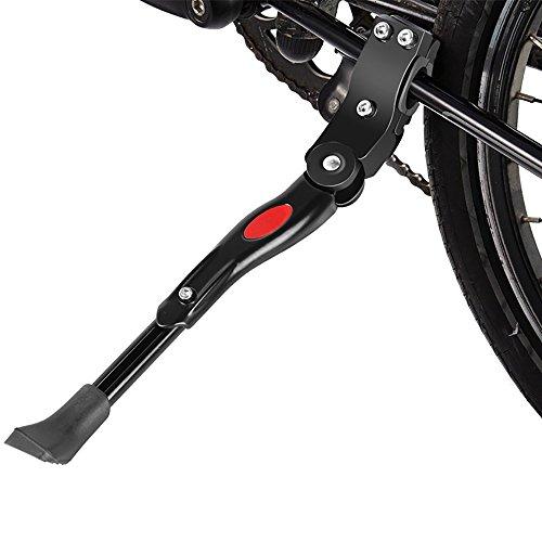 Xinxun Fahrradständer Verstellbarer Fahrrad Ständer - Anti-Rutsch Faltbarer Seitenständer Gummi-Fuß für Mountainbike, Rennrad, Faltrad und Klapprad