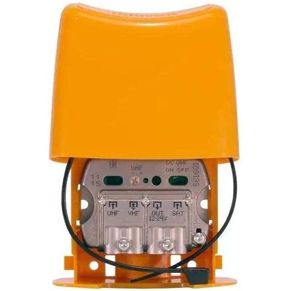 Televes 561601- Amplificador de mástil NanoKom (LTE790, 1er ...