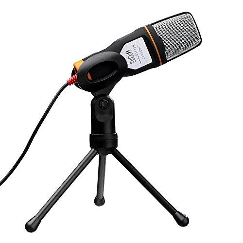 Tonor-USB-Micrfono-de-Condensador-profesional-Podcast-Studio-para-PC-Ordenador-porttil-con-Soporte-trpode-Negro
