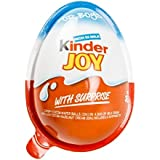 (6 Eggs) Surprise Chocolate JOY for BOY by Kinder Joy