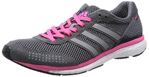 adidas - Adizero Adios Boost 2 W - B41002 - Farbe: Weiß-Grau-Rosa - Größe: 37.3