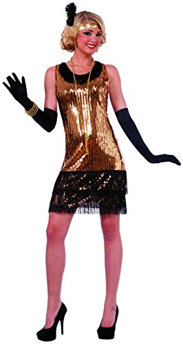 Ritzy Glitzy 20's Flapper Gangster Gal Adult Costume X-Small/Small