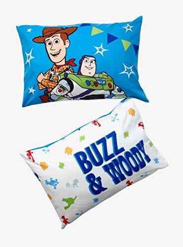 Disney Pixar Toy Story 4 Buzz & Woody Kissenbezug-Set (Kissenbezug Story Toy)
