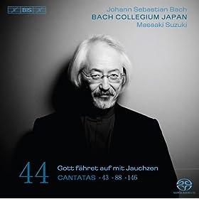Gott fahret auf mit Jauchzen, BWV 43: Part II: Recitative: Er will mir neben sich die Wohnung zubereiten (Soprano)