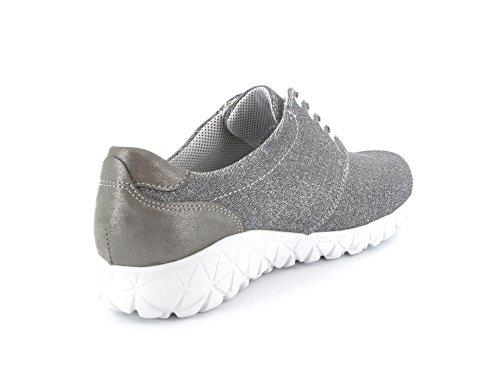Waldläufer 389002-851-364 Galassia Lizz donna Sneaker Grau