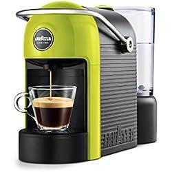 Lavazza jolie Combi Coffee Maker 0.6L 1tasses Noir, Cal-Cafetière (autonome, semi-automática, combine Coffee Maker, Lavazza A Modo Mio, Coffee Capsule, Noir, citron vert)