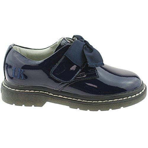 Bild von Lelli Kelly LK8284 (DE01) Irene SNR Navy Blue Patent School Shoes F Width -38 (UK 5)