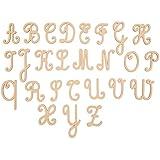 Boanita–alfabeto letras mayúsculas cursiva