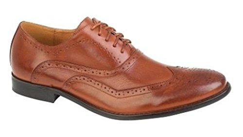 LD Outlet , Chaussures de ville à lacets pour garçon Marron - Brun