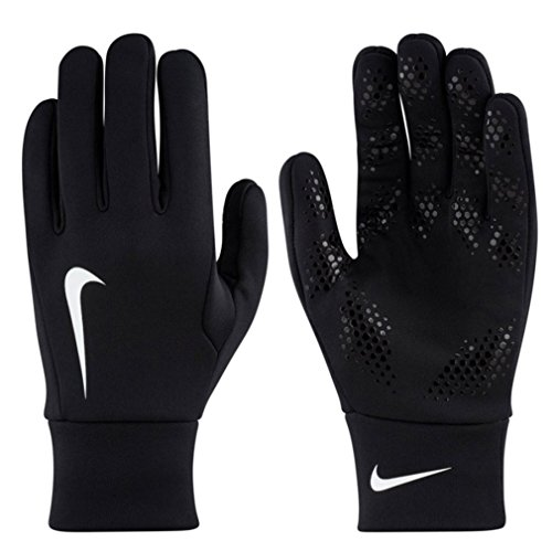 Nike Herren Hyperwarm Fieldplayer Gloves Spielerhandschuhe, Black/White, XS