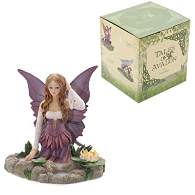 Puckator FYP104 Lisa Parker Tales of Avalon Water Lily Fairy 15 x 15 x 15cm