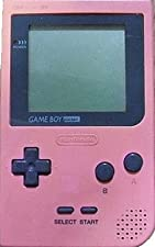 Console Nintendo Game Boy Pocket Rose