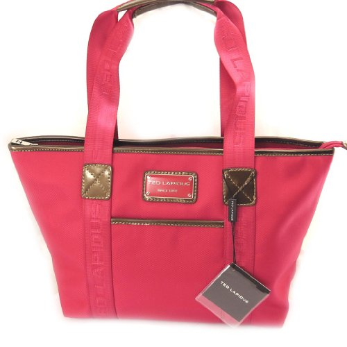 Shopping bag 'Ted Lapidus'fucsia.