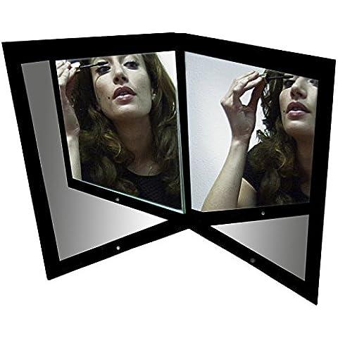 Prospettiva & soluzione 911672-Specchio di immagine reale, in vetro, colore: