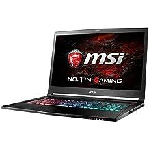 """MSI Gaming GS73VR 6RF(Stealth Pro 4K)-024ES 2.6GHz I7-6700HQ 17.3"""" 3840 x 2160Pixeles Negro - Ordenador portátil (Portátil, Negro, Concha, Juego, I7-6700HQ, Intel Core i7-6xxx)"""