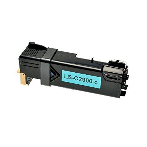 Preisvergleich Produktbild Toner für Epson C2900 C13S050629 cyan - Cyan, 2500 Seiten, kompatibel zu C13S050629